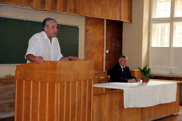 Привітальне слово декана факультету Богдана Мізюка