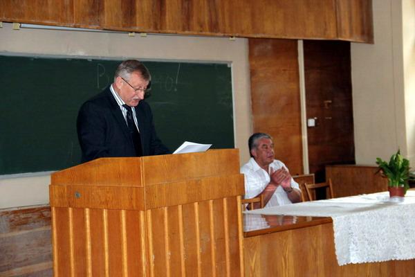 Привітання від заступника декана Коцупея Володимира Михайловича