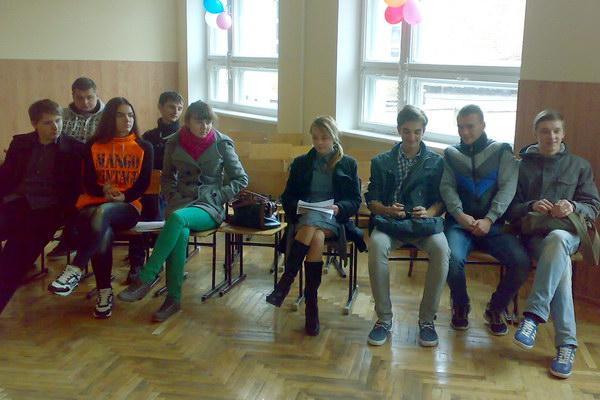 Учасники студентського наукового гуртка
