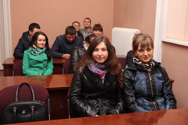 Зустріч студентів факультету менеджменту з працедавцями