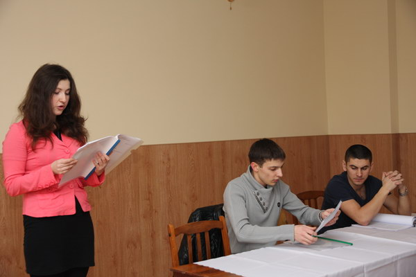 Переможці конкурсу - Марта Булич, Олег Кедрич та Михайло Бондар