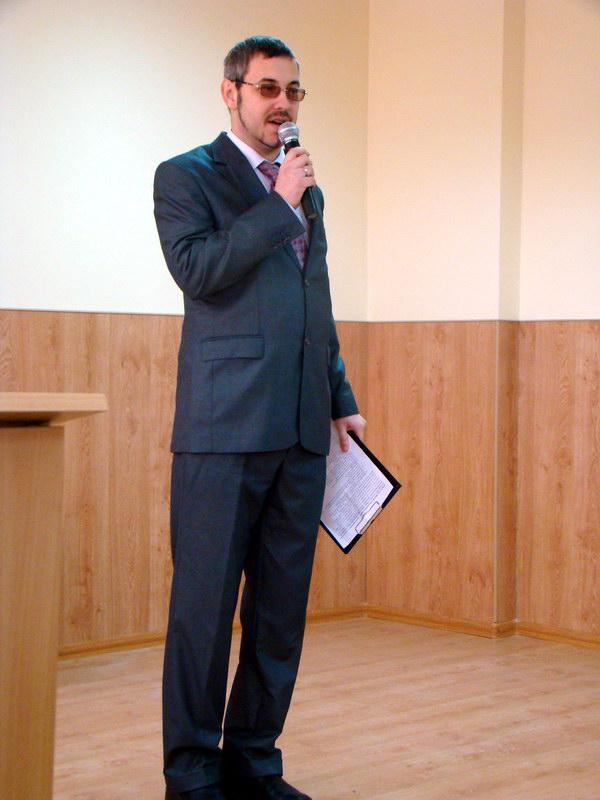ведучий свята Ю.Б. Миронов