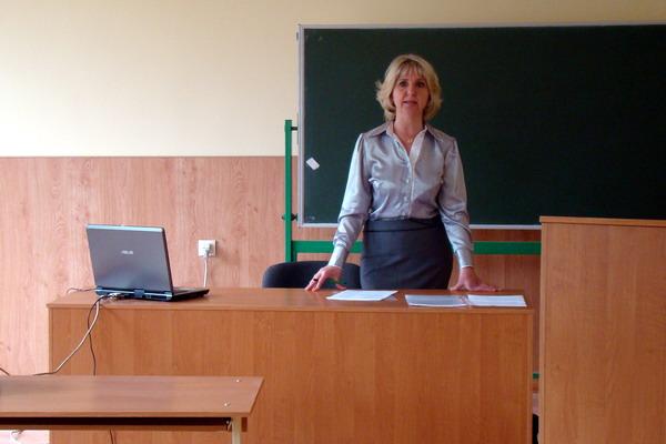 Розпочала роботу конференції в.о. зав. кафедри, доц. Трут О.О.