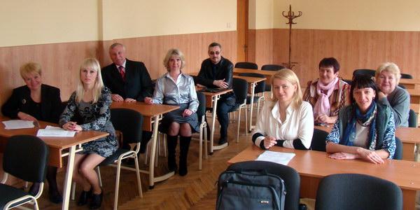 учасники секційного засідання конференції