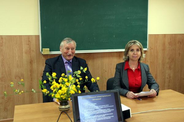 Секційне засідання конференції на кафедрі менеджменту
