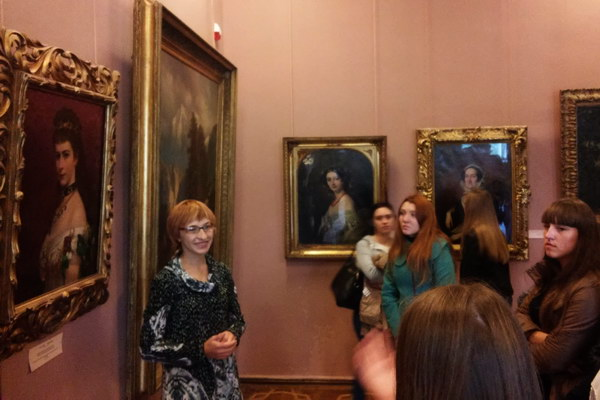 Майбутні фахівці з туризму у Львівській галереї мистецтв